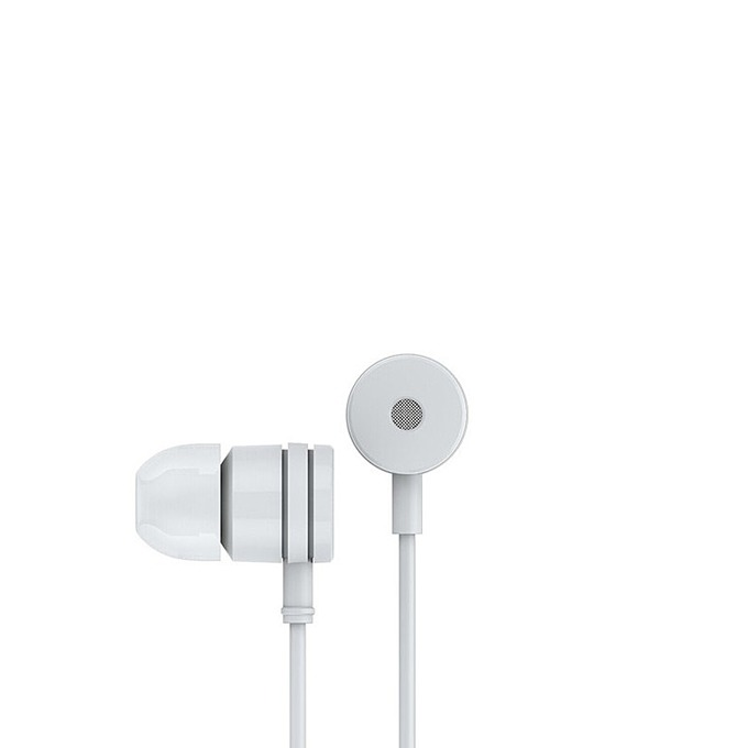 "Слушалки Xiaomi Headset Pistons Handsfree ZBW4043CN, микрофон, тип ""тапи"", бутон за разговори, бели image"