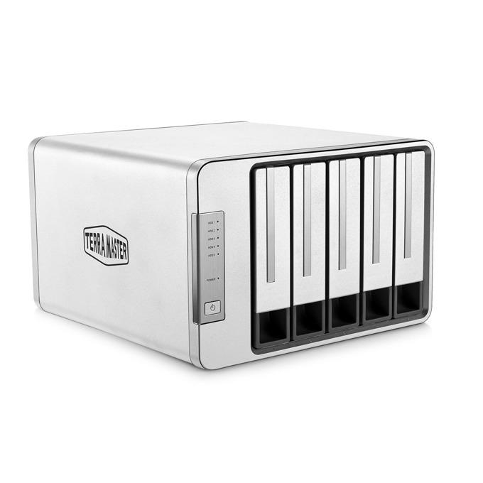 "TerraMaster D5-300 DAS Storage, без твърд диск (5x 2.5""/3.5"" SATA/SSD), 1x USB 3.0 Type C image"