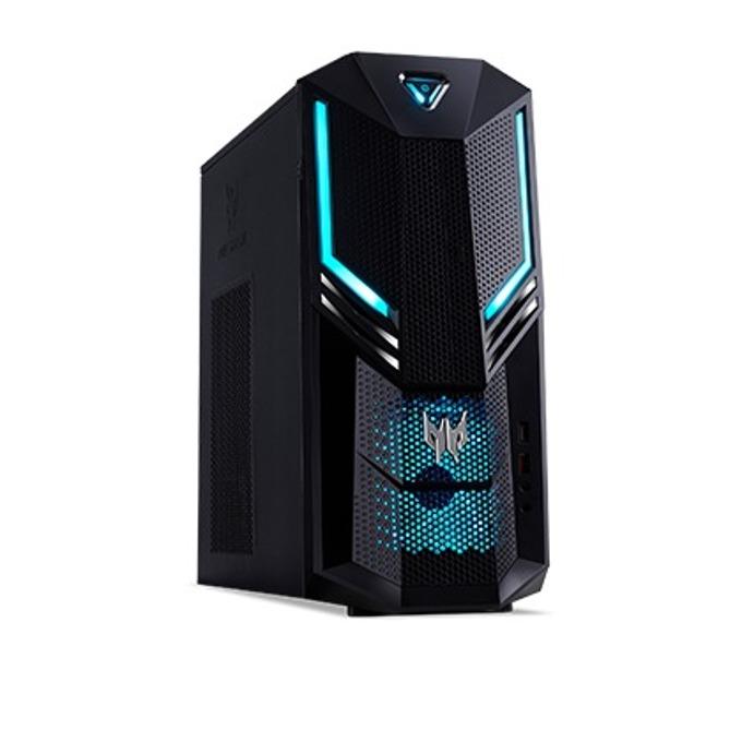 Настолен компютър Acer Predator PO3-600 (Orion 3000)(DG.E14EX.013) с монитор Predator XB1 (XB271HU), шестядрен Coffee Lake Intel Core i7-8700 3.2/4.6 GHz, GeForce GTX 1060 6GB, 8GB DDR4, 512GB SSD, клавиатура и мишка, Endless OS image
