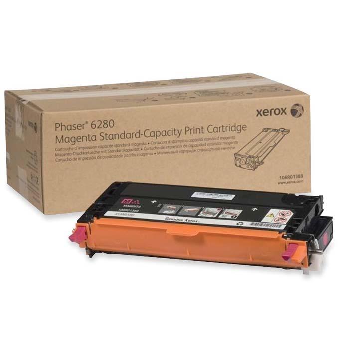 КАСЕТА ЗА XEROX Phaser 6280 - Magenta - P№ 106R01389 - заб.: 2200k image
