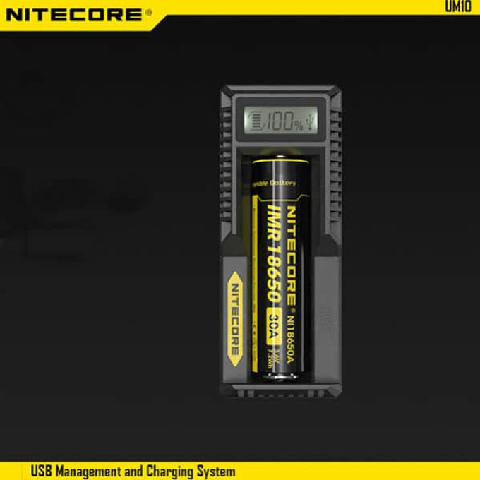 Зарядно устройство Nitecore UM10 за Li-ion батерии, 1 слот image