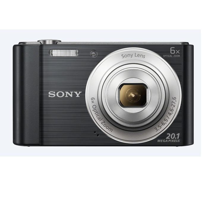 """Sony Cyber Shot DSC-W810, черен, 6xOptical zoom, 20.1Mpix, 2.7"""" (6.86cm) екран, SDHC/SDXC, USB image"""