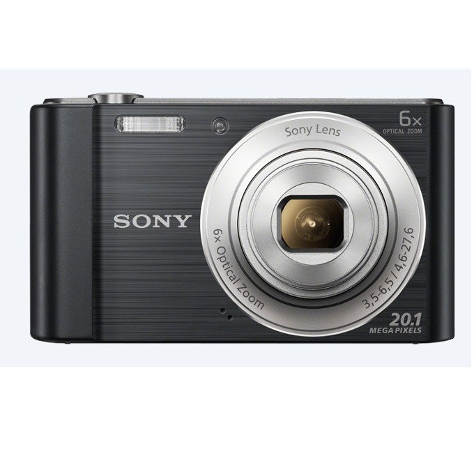 "Фотоапарат Sony Cyber Shot DSC-W810, черен, 6xOptical zoom, 20.1Mpix, 2.7"" (6.86cm) екран, SDHC/SDXC, USB image"