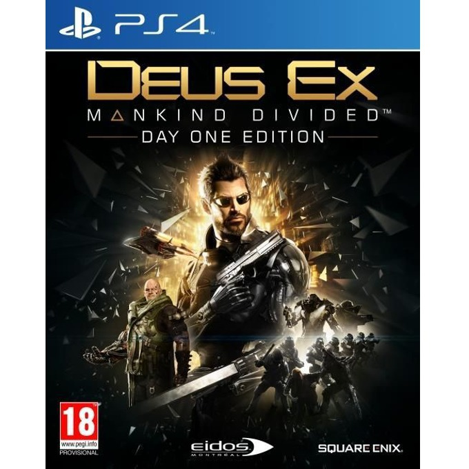 Deus Ex: Mankind Divided Day 1 Edition, за PS4 image