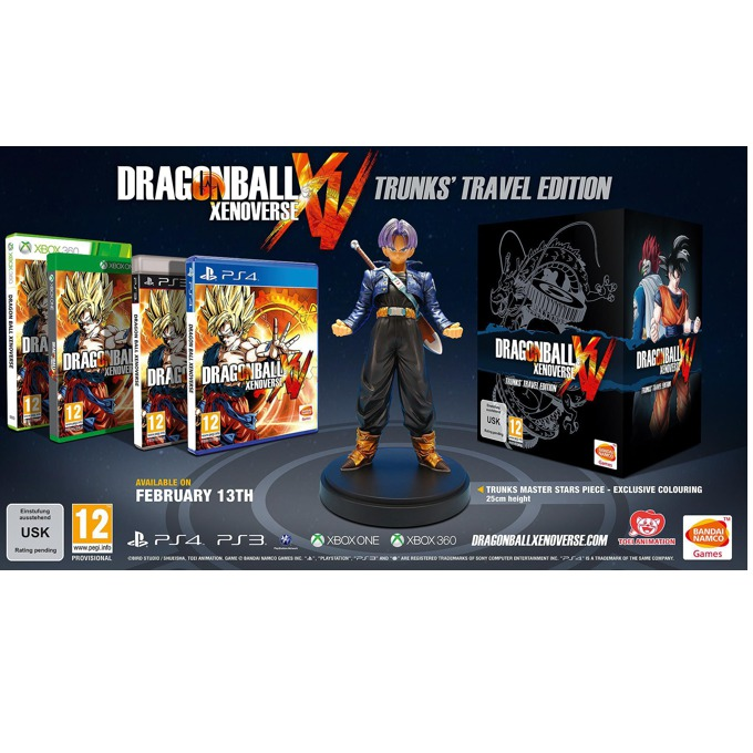 Dragon Ball Xenoverse Trunks Travel Edition, за PS4 image
