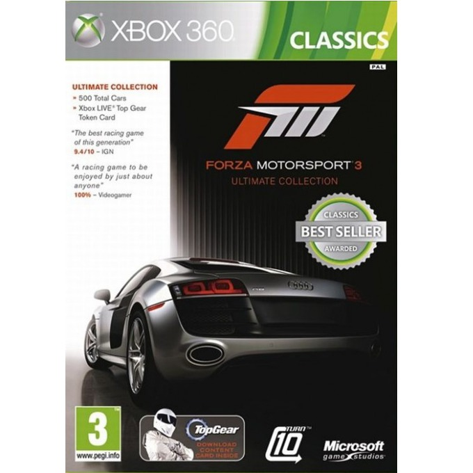 Forza Motorsport 3 Ultimate Collection - Classics, за Xbox 360 image