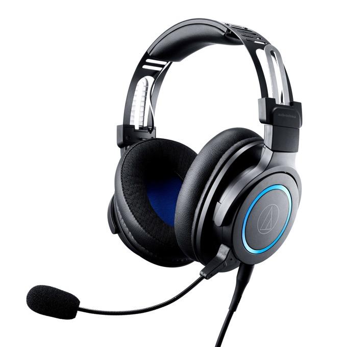 Слушалки Аudio-Тechnica ATH-G1, микрофон, гейминг, черни image