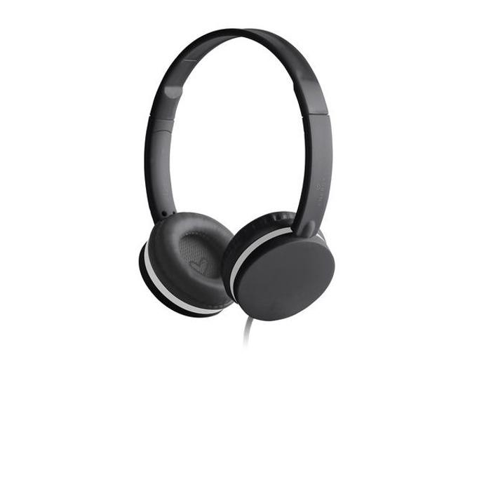 Слушалки Energy Sistem Headphones Colors Black Mic, микрофон, 3.5 mm jack, черни image