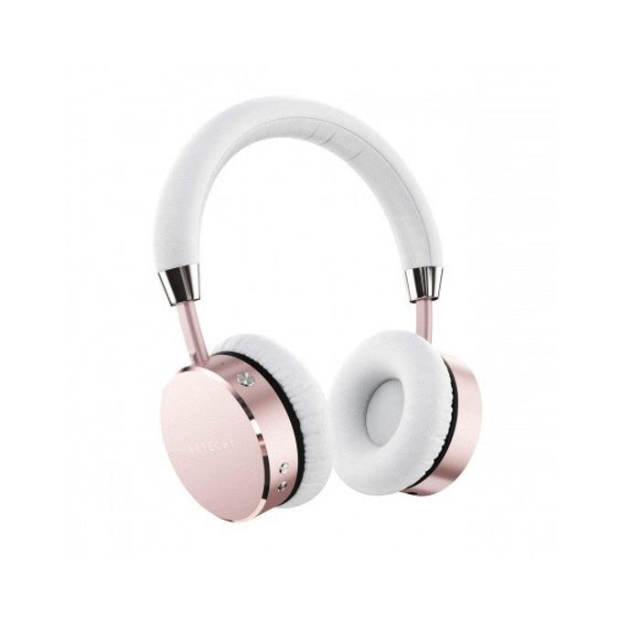 Слушалки Satechi ST-AHPR, безжични (Bluetooth 4.0), до 18 часа време за работа, 3.5мм кабел с микрофон, розови image
