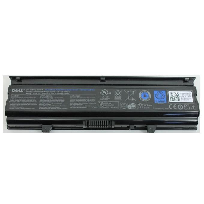 Батерия (оригинална) за Dell Inspiron M4010/20/30, 11.1V, 4400mAh, 6 Cell image