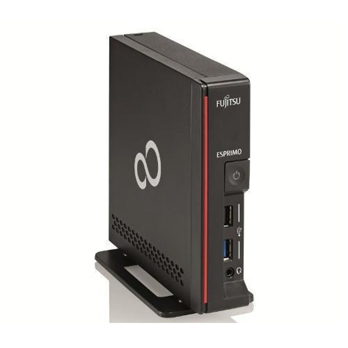 Настолен компютър Fujitsu Esprimo G558, двуядрен Coffee Lake Intel Pentium Gold G5400 3.7 GHz, 4GB DDR4, 256GB SSD, 3x USB 3.0, мишка, Windows 10 Pro image
