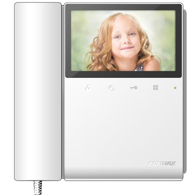 """Видеодомофон Commax CDV-43K2, цветен 4,3""""(10.92cm) TFT екран, до 2 камери/2 монитора/ 2 интерфона, повърхностен монтаж image"""