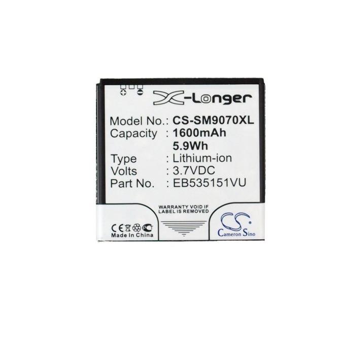 Батерия (заместител) за телефон Samsung Galaxy S Advance, GT-i9070, 3.7V/1600 mAh  image