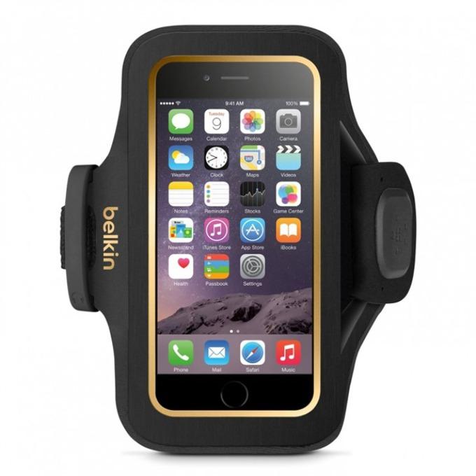 Калъф за ръка Belkin Sport Armband Slim-Fit Universal за iPhone 6, черен image