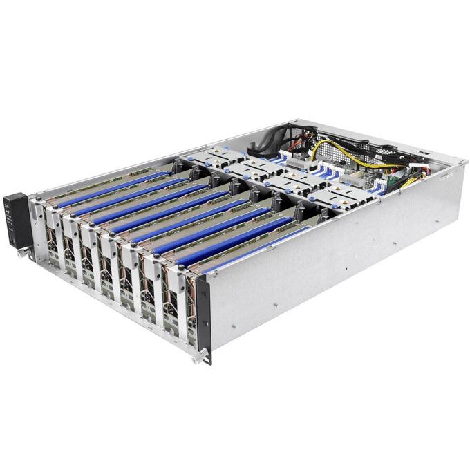 """Barebone Сървър ASRock 3U8G (3U8G-C612), поддържа 2x Intel Xeon Processor E5-2600/4600 v3/v4 Family, 16x ECC DIMM слота, Без твърд диск(6x 2.5"""" SATA HDD (6Gb/s)), 2x 10G Lan, 3U Rackmount, 1200W захранване image"""