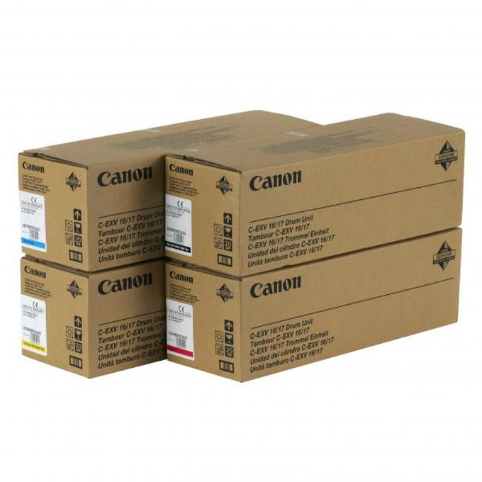 БАРАБАН ЗА КОПИРНА МАШИНА CANON C-EXV 16/17 - iR C4080i/C4580i/CLC4040/5151 - Cyan - P№ CF0257B002[AA] - заб.: 60000k image