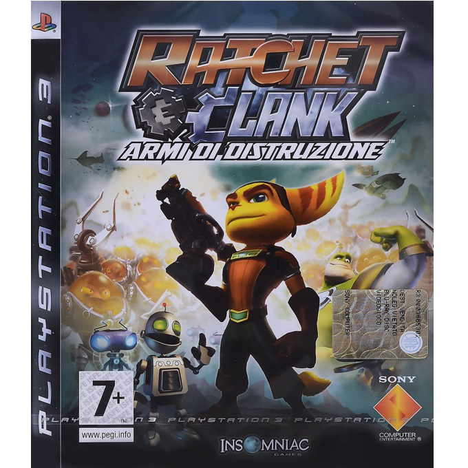Игра за конзола Ratchet and Clank: Tools of Destruction, за PS3 image