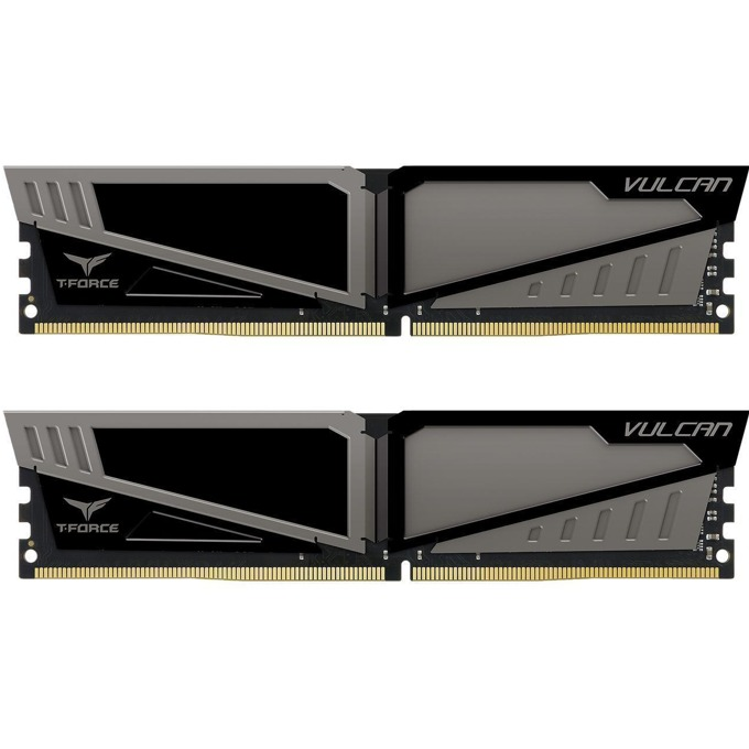 32GB (2x16GB) DDR4 2666MHz, Team Group T-Force Vulcan, TLGD432G2666HC15BDC01, 1.2V image
