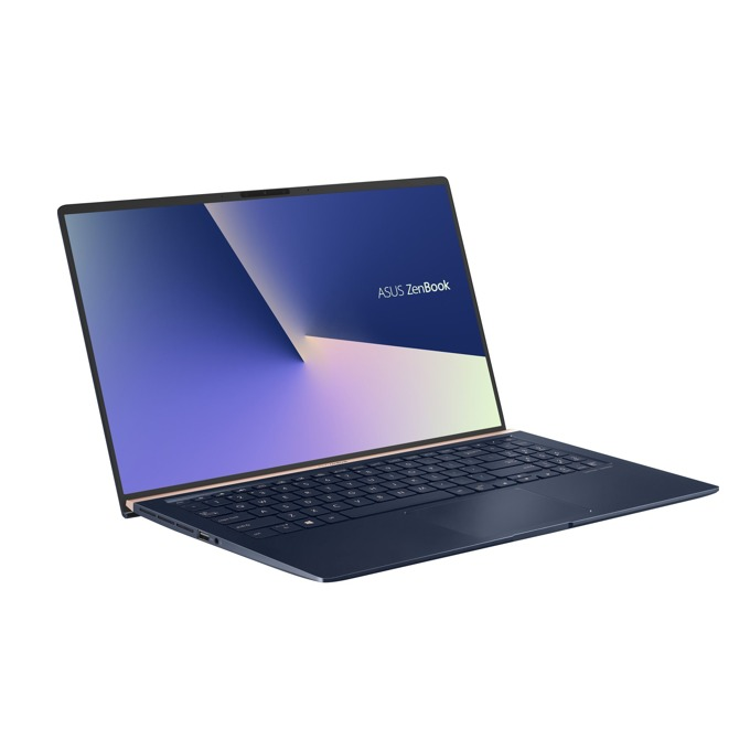 "Лаптоп Asus Zenbook 15 UX533FD-A8011T (90NB0JX1-M03040), четириядрен Whiskey Lake Intel Core i7-8565U 1.8/4.6 GHz, 15.6"" (39.62 cm) Full HD Anti-Glare Display & GeForce GTX 1050 2GB , (HDMI), 8GB DDR4, 256GB SSD, USB 3.1 Type-C, Windows 10, 1.67 kg image"