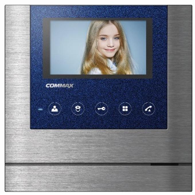 """Цветен Видеодомофон Commax CAV-43MG, до 1 аналогова камера/1 камера Gate View/ 2 интерфона, TFT Wide Screen, 4,3"""" image"""