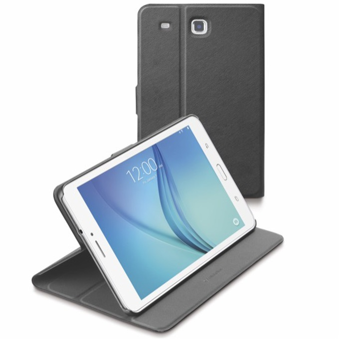 Калъф за таблет Samsung Galaxy Tab E 8'(20.32 cm), стойка, сив image