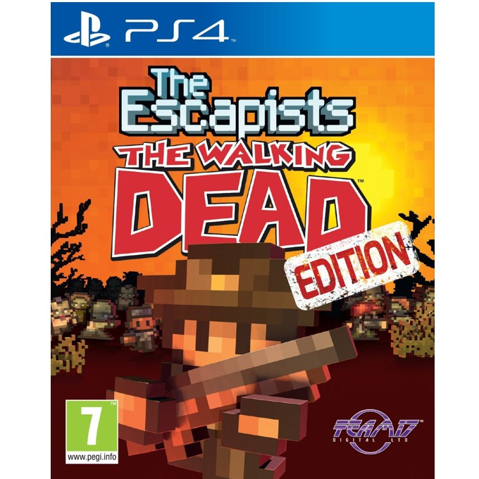 Игра за конзола The Escapists: The Walking Dead, за PS4 image