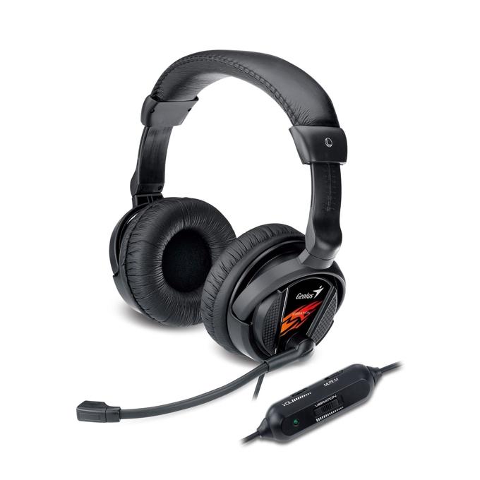 Слушалки Genius HS-G500V, вибрация, микрофон