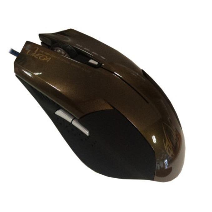 Мишка Omega 6D OPT GAMING, оптична, 2400 DPI, USB, сива image