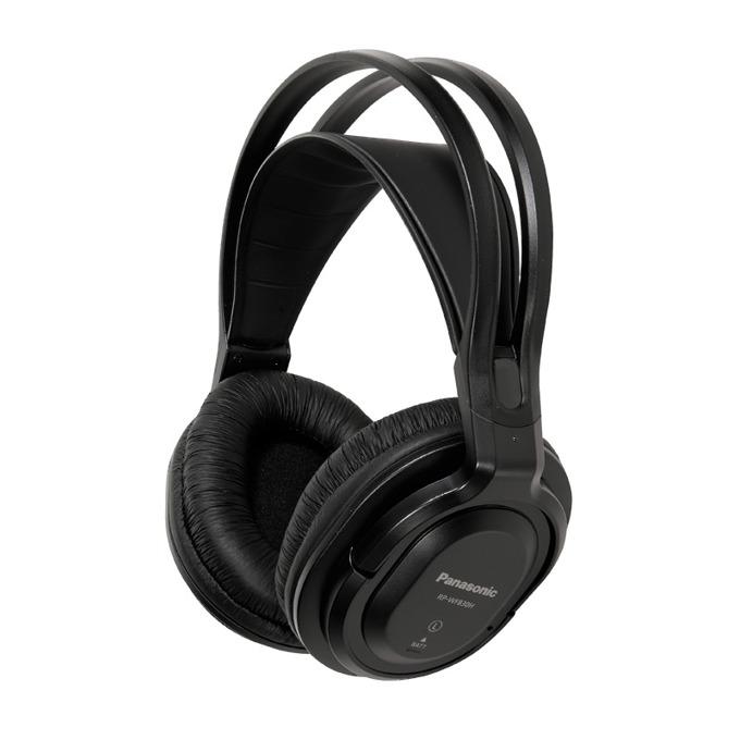 Слушалки Panasonic RP-WF830E, безжични, черни image