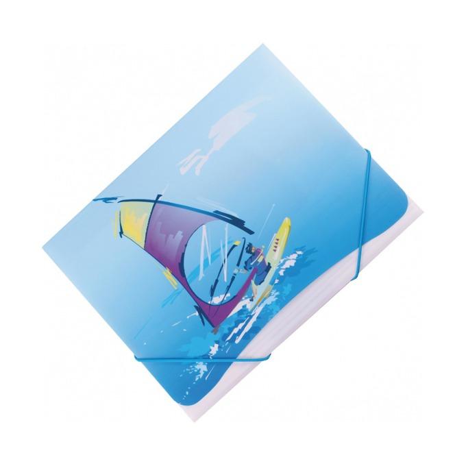 Папка Centrum Extreme Sp, за документти, с ластик и три капака, разлини варианти на рисунък image