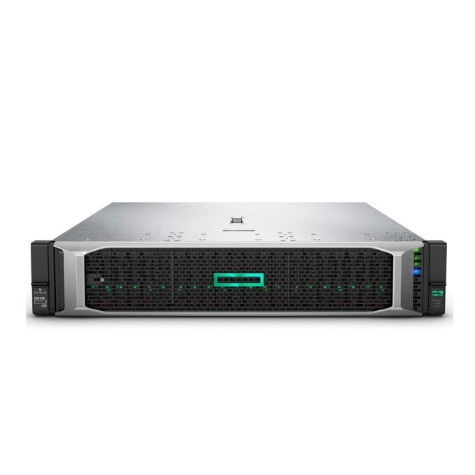 Сървър HPE DL380 G10 (PERFDL380-008), десетядрен Cascade Lake Intel Xeon Silver 4210 2.2/3.2 GHz, 32GB RDIMM, без HDD, 4x GbE LOM, без ОС, 2x 800W image