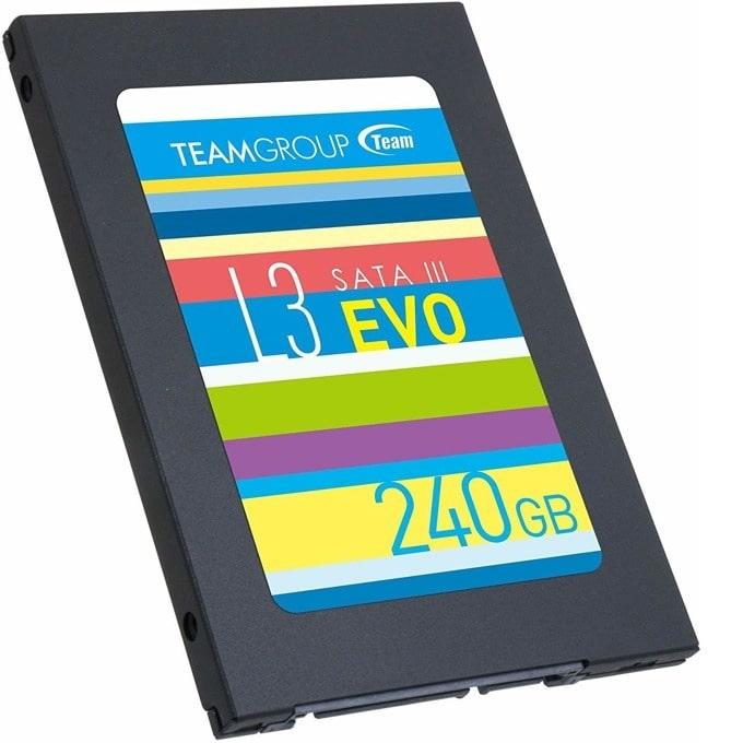 """SSD 240GB TeamGroup L3 EVO, SATA 6Gb/s, 2.5""""(6.35 cm), скорост на четене 530MB/s, скорост на запис 470MB/s image"""