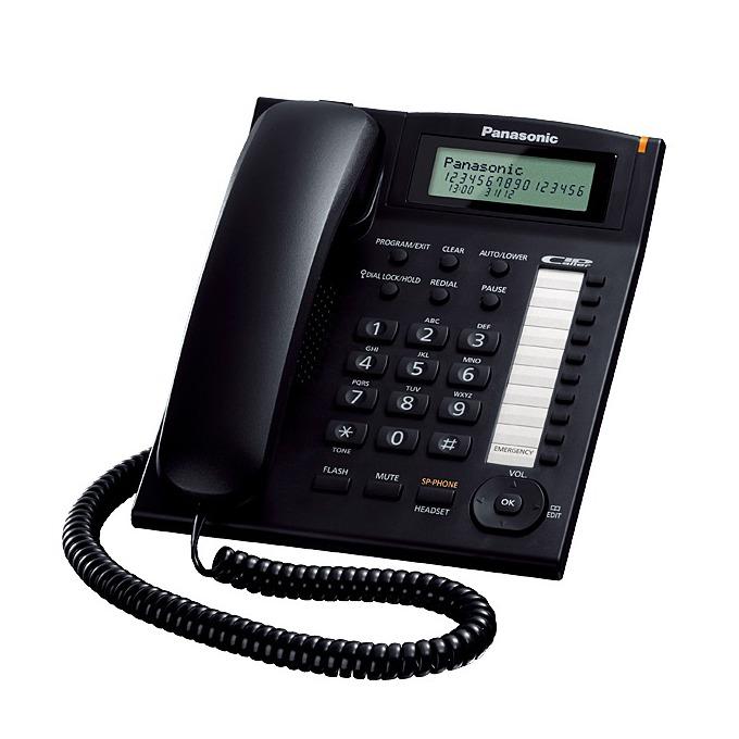 Стационарен телефон Panasonic TS 880FX
