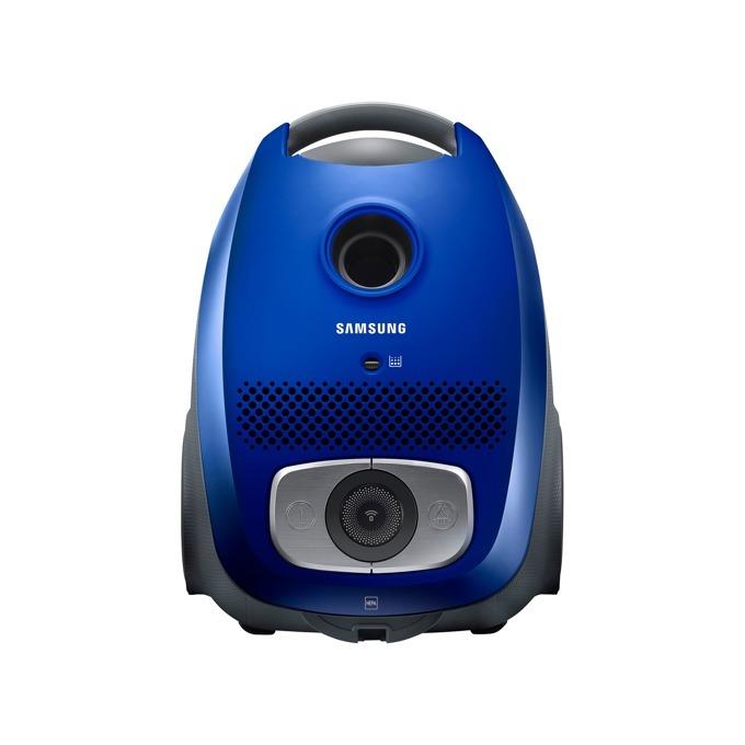 Прахосмукачка Samsung VC07VHNJGBL/OL, с торба, 750 W, 3 л. капацитет на контейнера, енергиен клас A, синя image