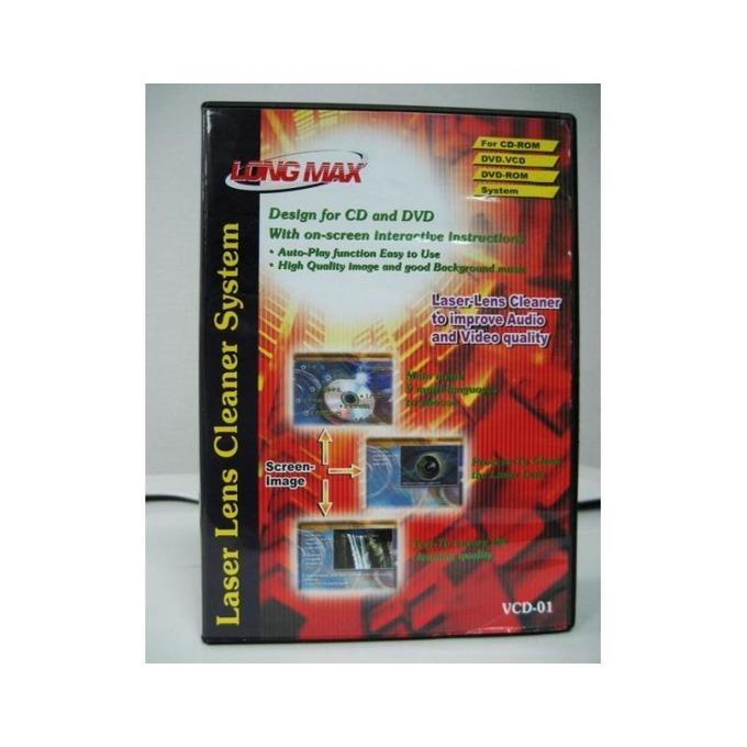 Почистващ комплект за CD/ DVD устройства Longmax Laser Lens cleaner image