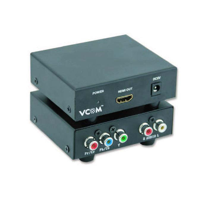 Конвертор VCom DD492, 1x YPBPR вход към 1x HDMI изход image
