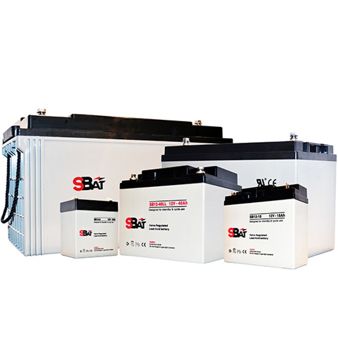 Акумулаторна батерия SBat SB12-26LL, 12V, 26Ah image