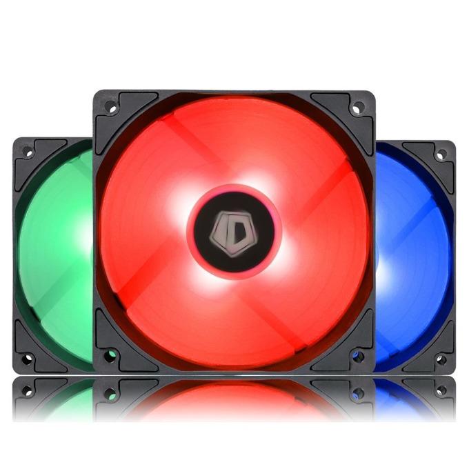 Вентилатор 120mm ID-Cooling RGB, 4-pin, 1800 RPM, 3бр image