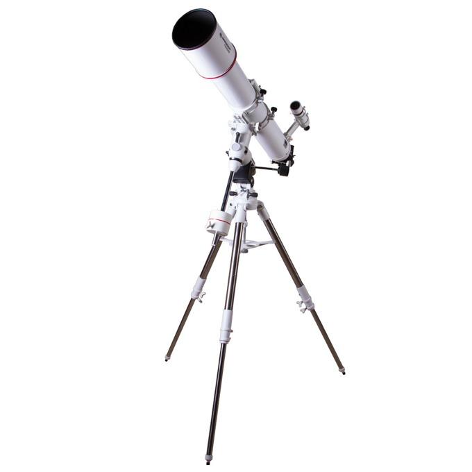 Телескоп Bresser Messier AR-127L/1200 (EXOS-2/EQ5), 46-254x оптично увеличение, бял image