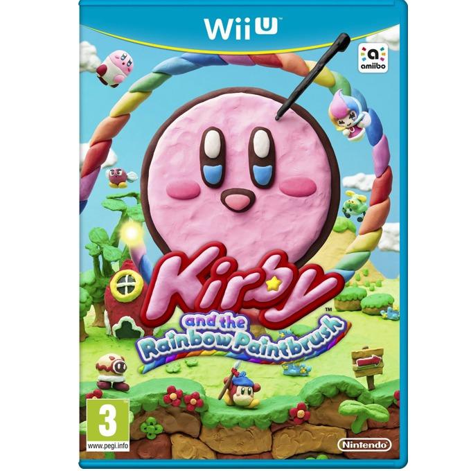 Игра за конзола Kirby and the Rainbow Paintbrush, за WII U image