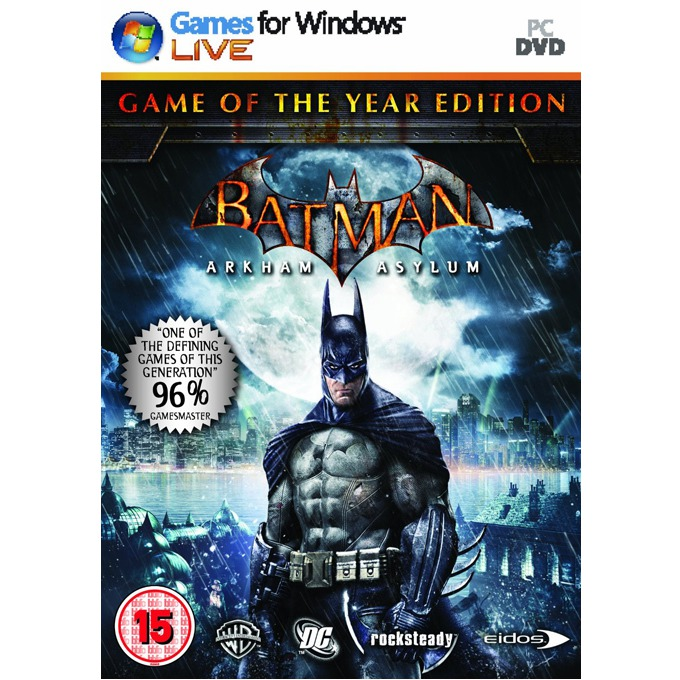 Batman Arkham Asylum GOTY, за PC image