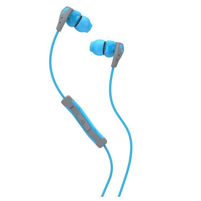 Слушалки Skullcandy Method (синьо-сиви), водоустойчиви спортни, микрофон image