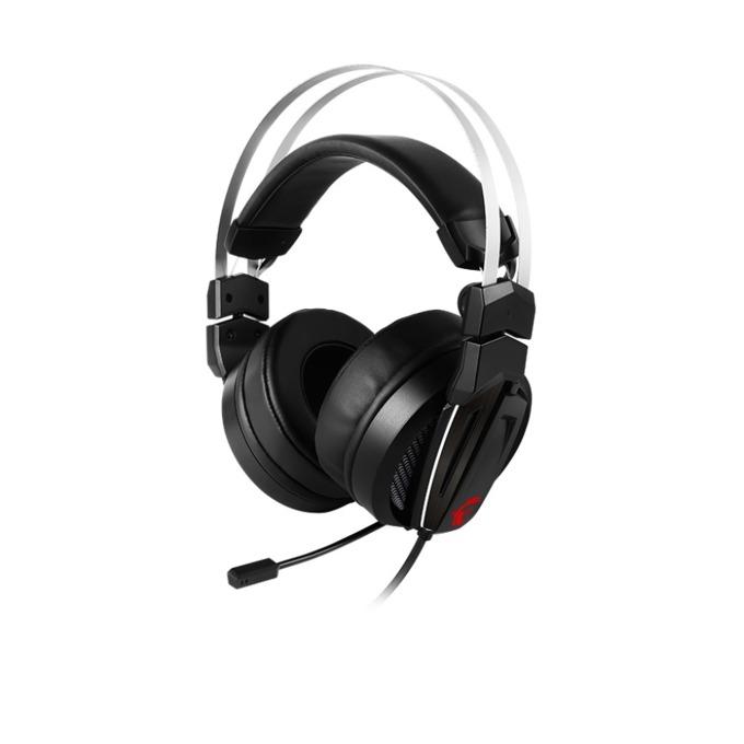 Слушалки MSI Immerse GH60, микрофон, честотен диапазон- 20 Hz ~ 40 kHZ, , черни image