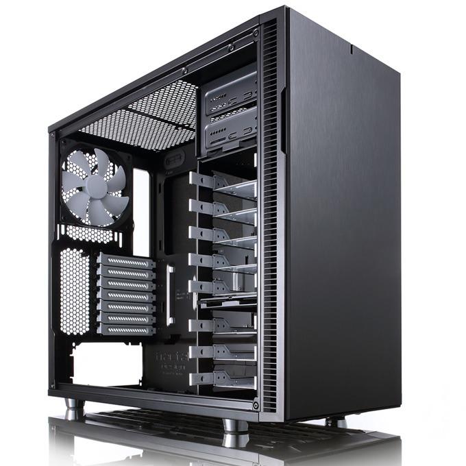 Кутия Fractal Design Define R5 Black, ATX/Micro-ATX/Mini-ITX, 2x USB 3.0, черна, без захранване image