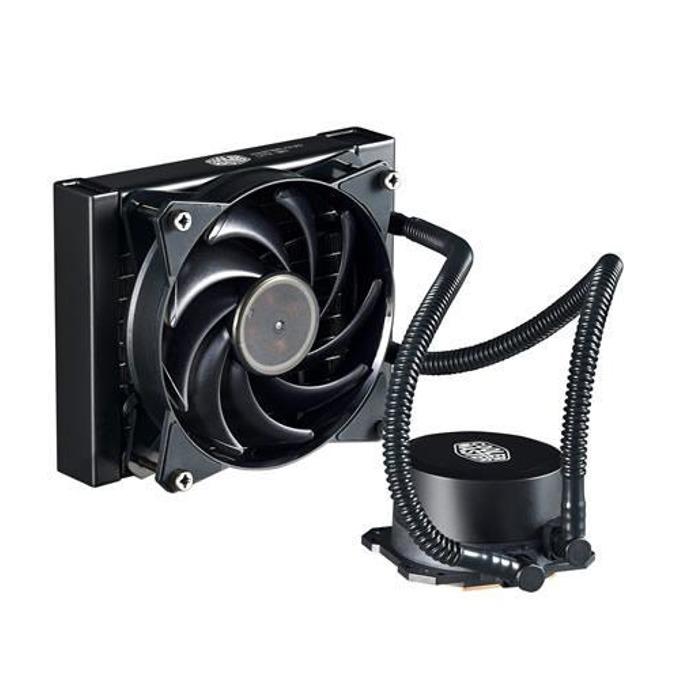 Водно охлаждане за процесор CoolerMaster MasterLiquid Lite 120, съвместимост с LGA 2011-v3/2066/2011/1151/1150/1155/1156/1366/775 & AMD AM4/AM3(+)/AM2(+)/FM2(+)/FM1 image