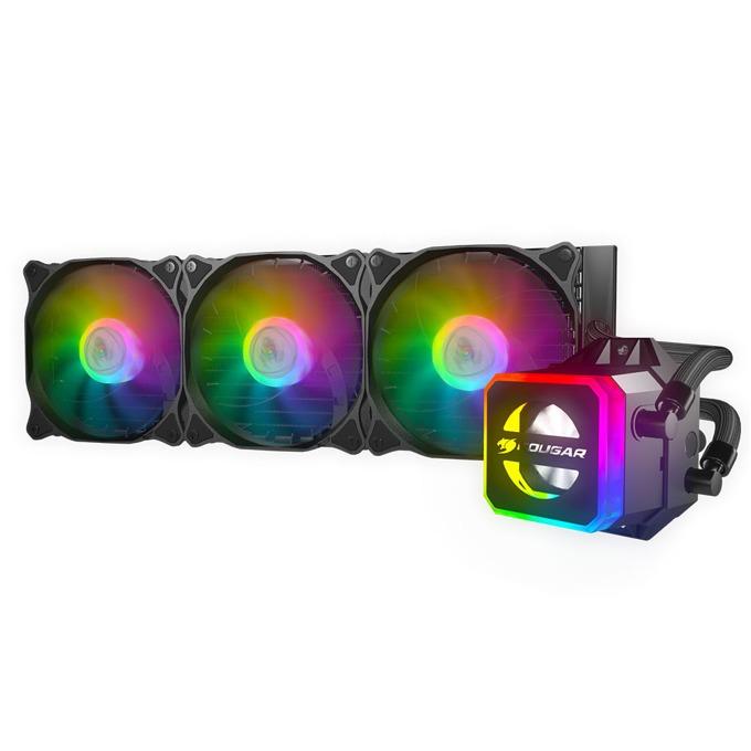 Водно охлаждане за процесор Cougar Helor 360, съвместимост със сокети LGA 2066/2011/2011-3/1366/1156/1155/1151/1150/775 & AMD AM4/AM3+/AM3/AM2+/AM2/FM2+/FM2/FM1 image