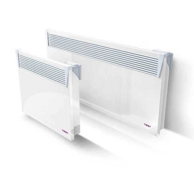 Конвектор Tesy CN 03 250 EIS W, защита срещу прегряване, електронен терморегулатор, 2500W, бял image