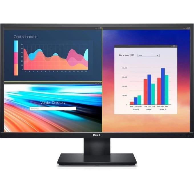 """Монитор Dell E2420HS, 23.8"""" (60.45 cm) IPS панел, Full HD, 5ms, 250 cd/m2, HDMI, VGA  image"""