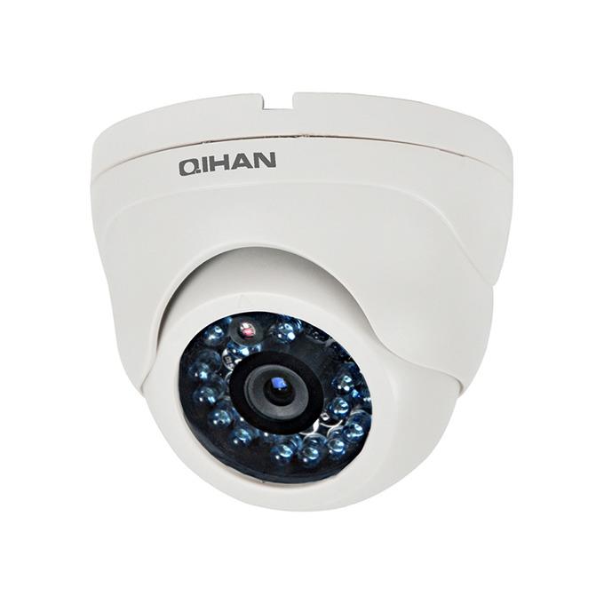 """Qihan QH-3126OC-N AHD камера, куполна, 1/4"""" CMOS, 1MP, 3.6mm, ИЧ-20m image"""