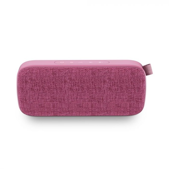 Тонколона Energy Fabric Box 3+ Trend, 2.0, Bluetooth до 9 часа време за работа, розова ,микрофон, TWS, FM, WAV/ MP3 image
